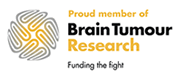 Proud member of Brain Tumour Research: Funding the fight