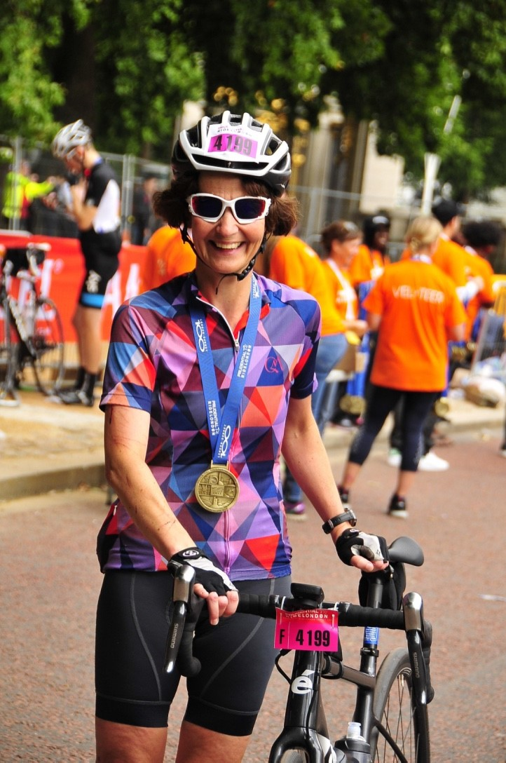 Nicola ride london 1