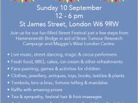 st james street festival poster