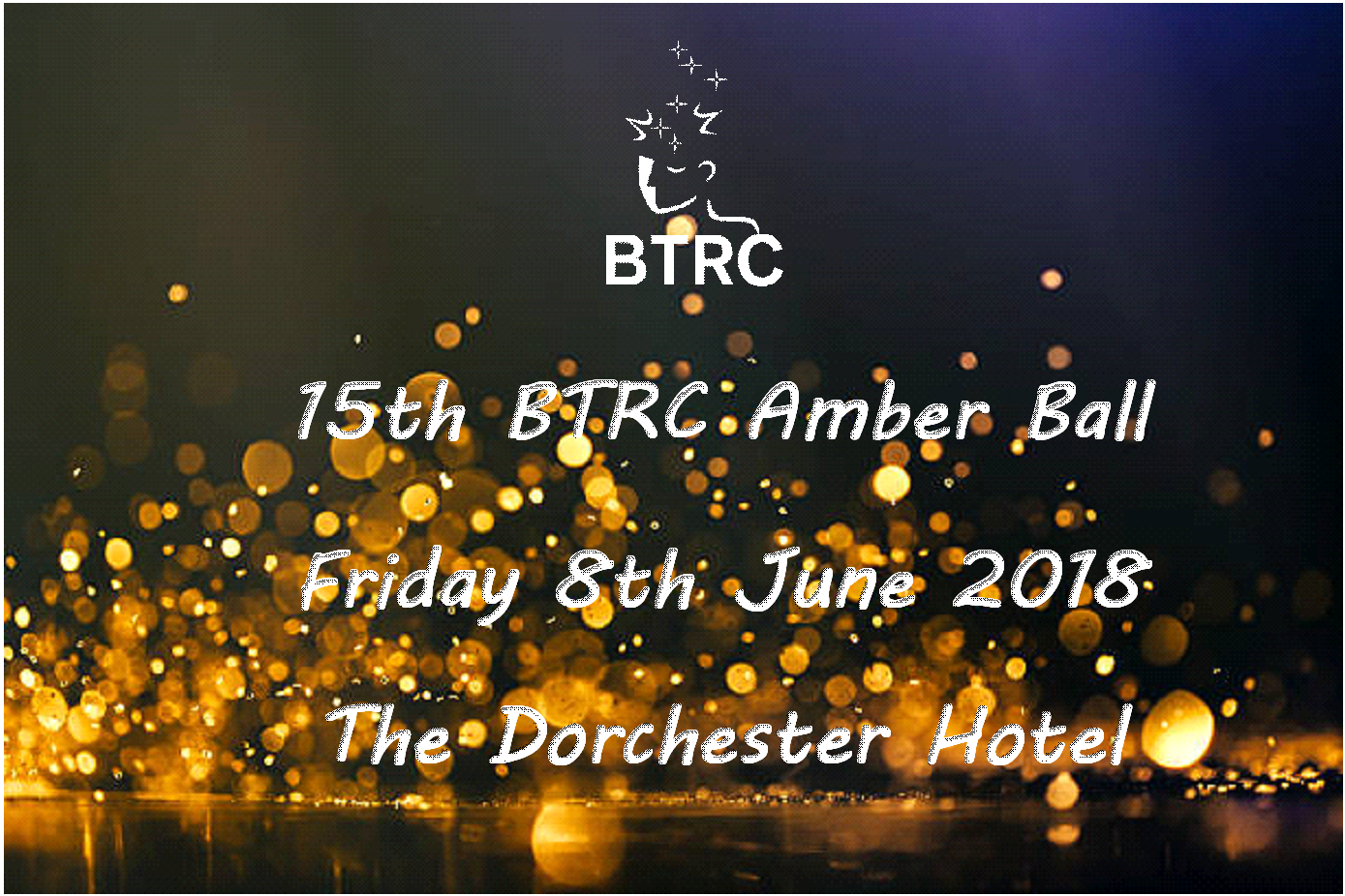 15th BTRC Amber Ball on 8th June